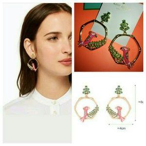 New!♠ks Haute Stuff Parrot Earrings!♠